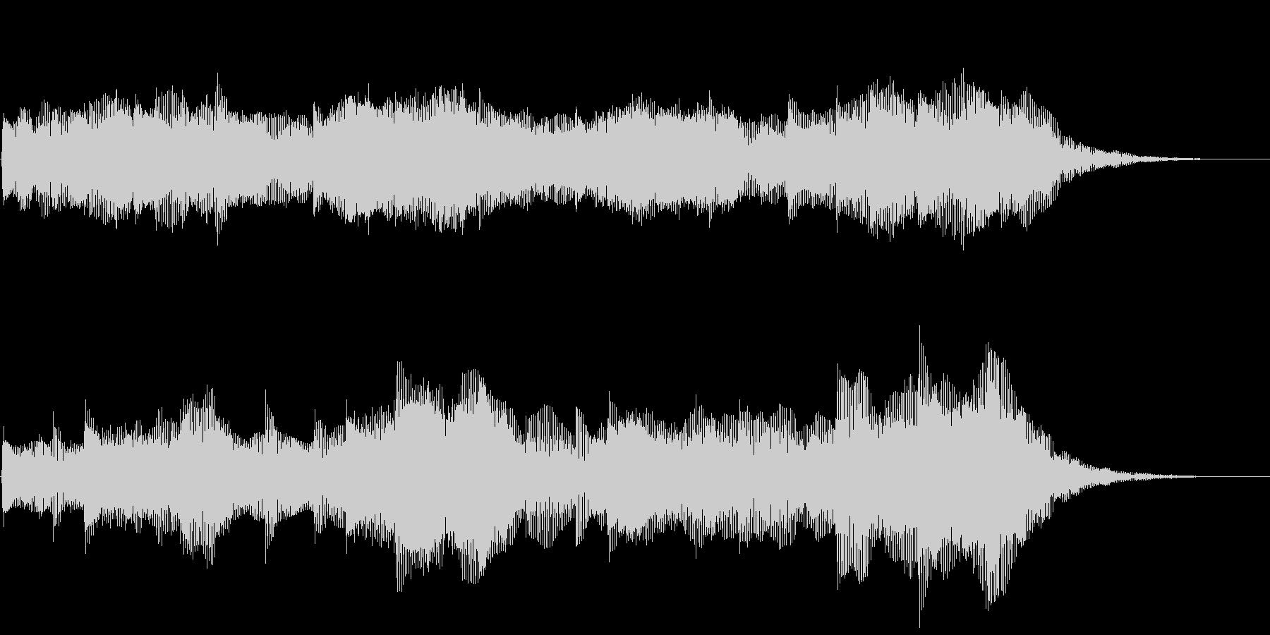 ダークなストリングス ホラー バスドラ抜の未再生の波形