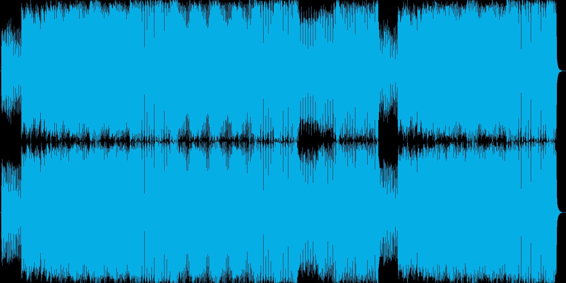 あわてんぼう、急ぐアップテンポBGMの再生済みの波形