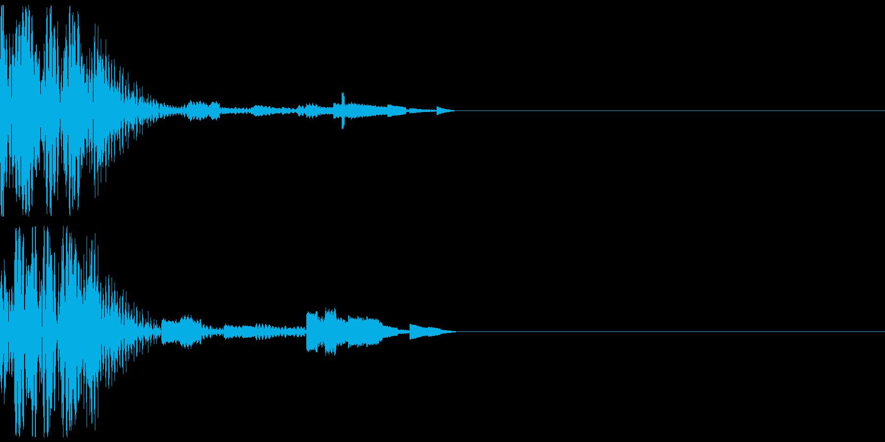 コンピューターチックなボタン音 近未来的の再生済みの波形