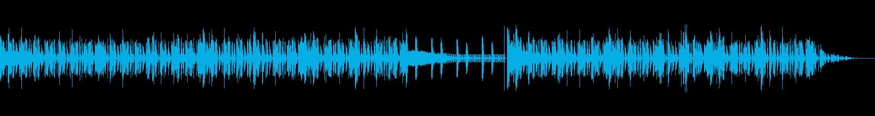 ピアノを使用した緊迫感のあるインスト曲の再生済みの波形