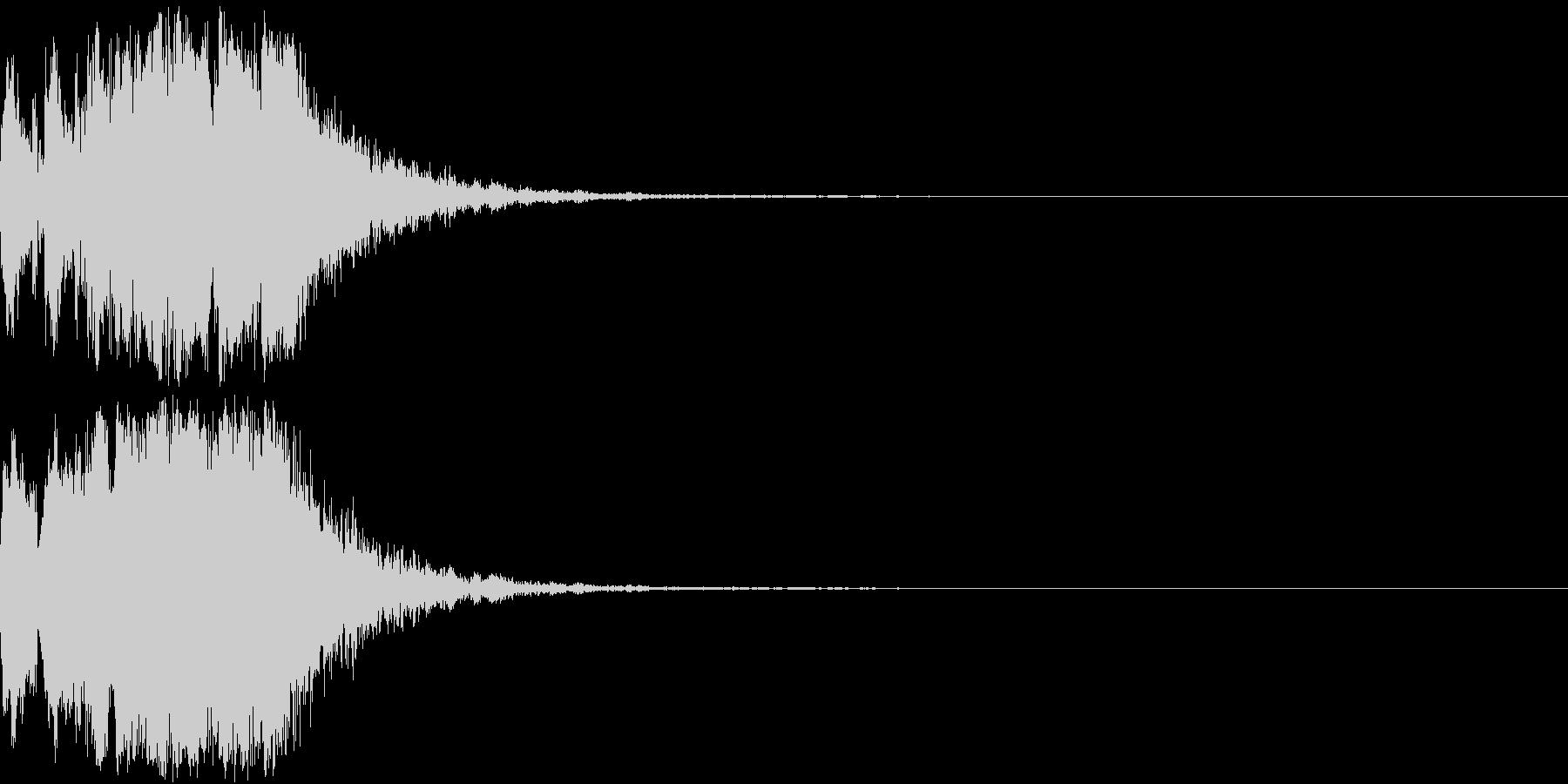 ファンファーレ 当たり 正解 合格 11の未再生の波形