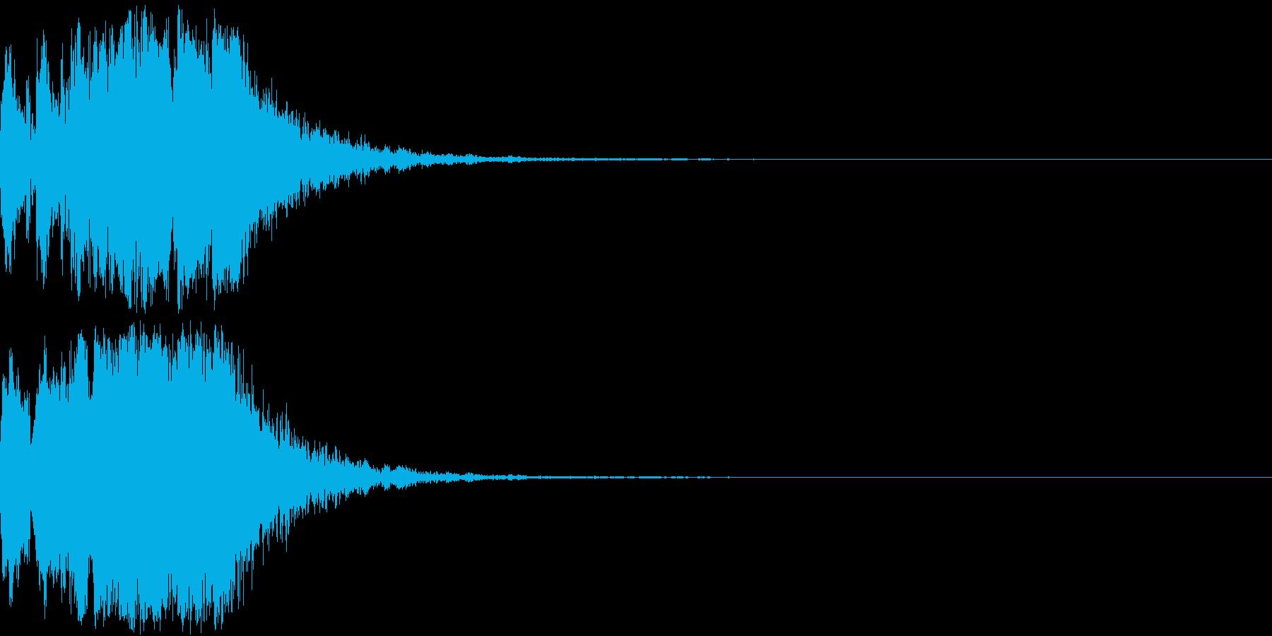 ファンファーレ 当たり 正解 合格 11の再生済みの波形
