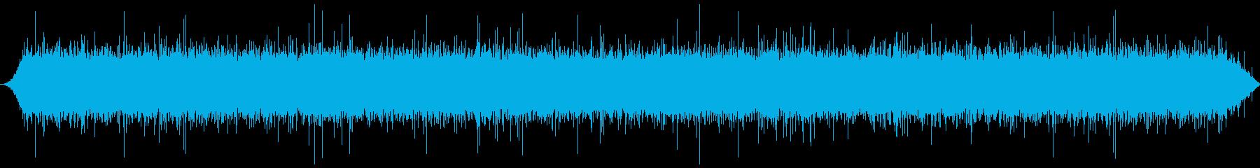 渓流:中流、大きな隙間を流れるの再生済みの波形