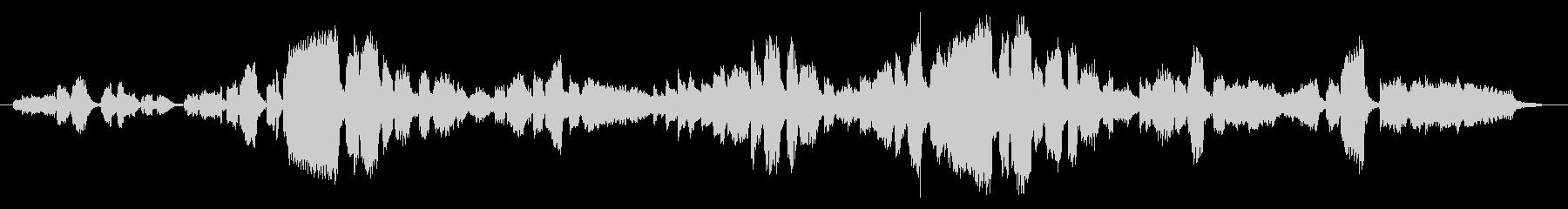 生演奏「アメージンググレース」歌&ピアノの未再生の波形