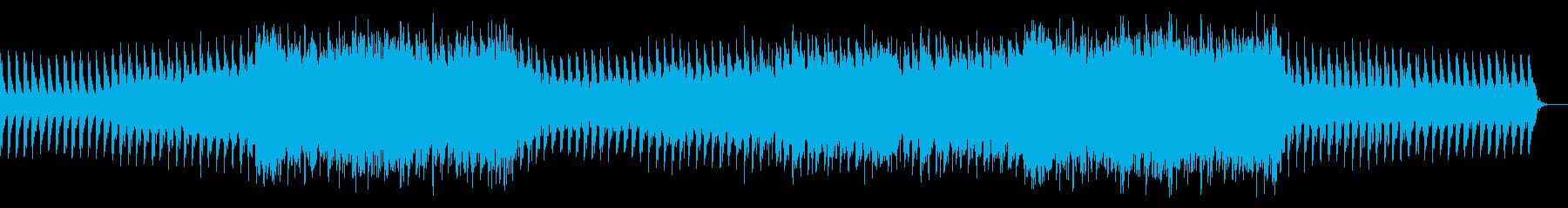 ラスボス戦闘時の荘厳で壮大な曲の再生済みの波形