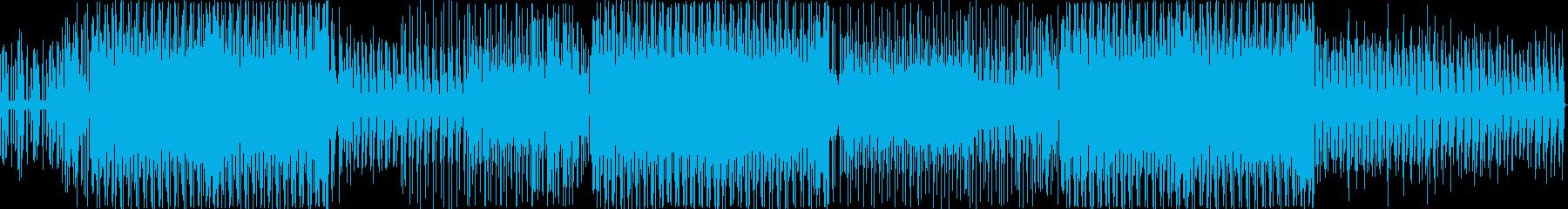 フラメンコ風ギター/情熱的ラテンポップの再生済みの波形