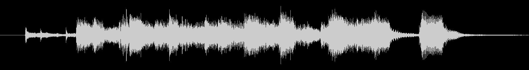 ビッグバンド・ゴージャス・ジングル・6秒の未再生の波形