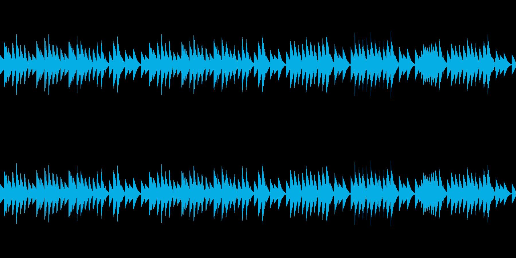 8bit グノシエンヌ(ループ)の再生済みの波形