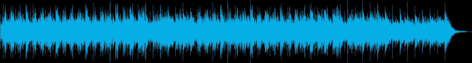 ギターとピアノの優しいヒーリングBGMの再生済みの波形
