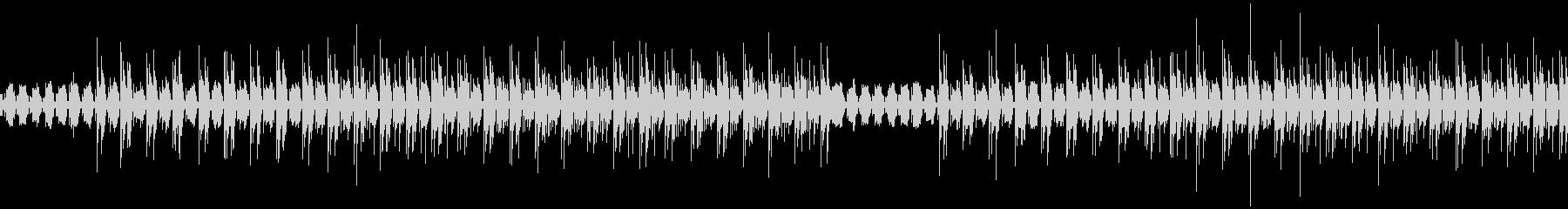 脱力感のあるピアノと電子音(ループ対応)の未再生の波形