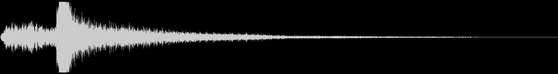 ハイテクドアクロージング/コンプの未再生の波形