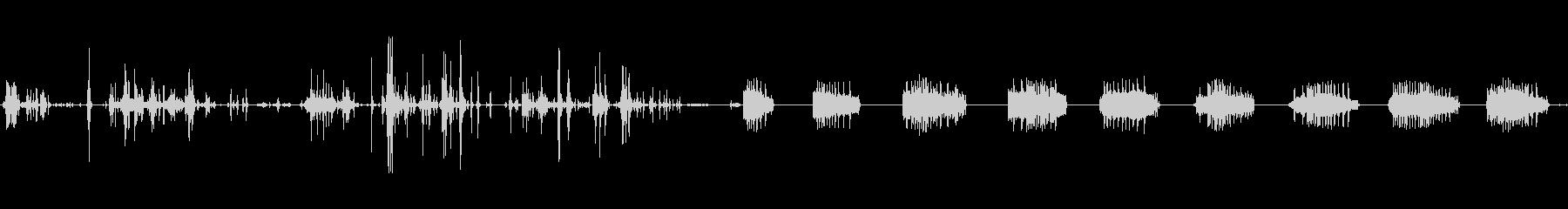 ラック:サウンドのセットアップクラ...の未再生の波形