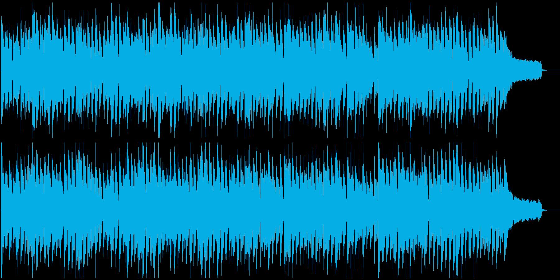 ファンタジー感のある音響系リコーダー、森の再生済みの波形