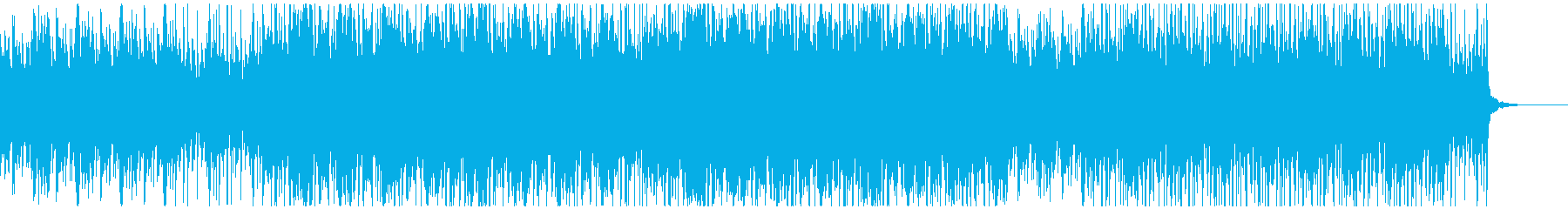 オープニング向けピアノの再生済みの波形