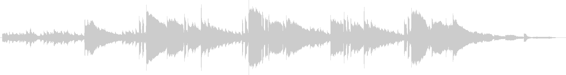 Bright and sparkling waltz BGM's unreproduced waveform