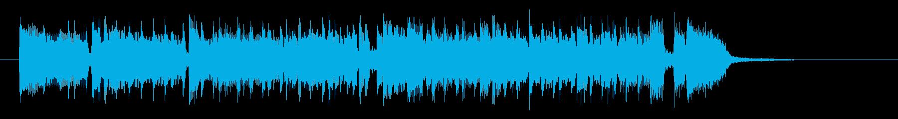 スタイリッシュで都会的なポップスの再生済みの波形