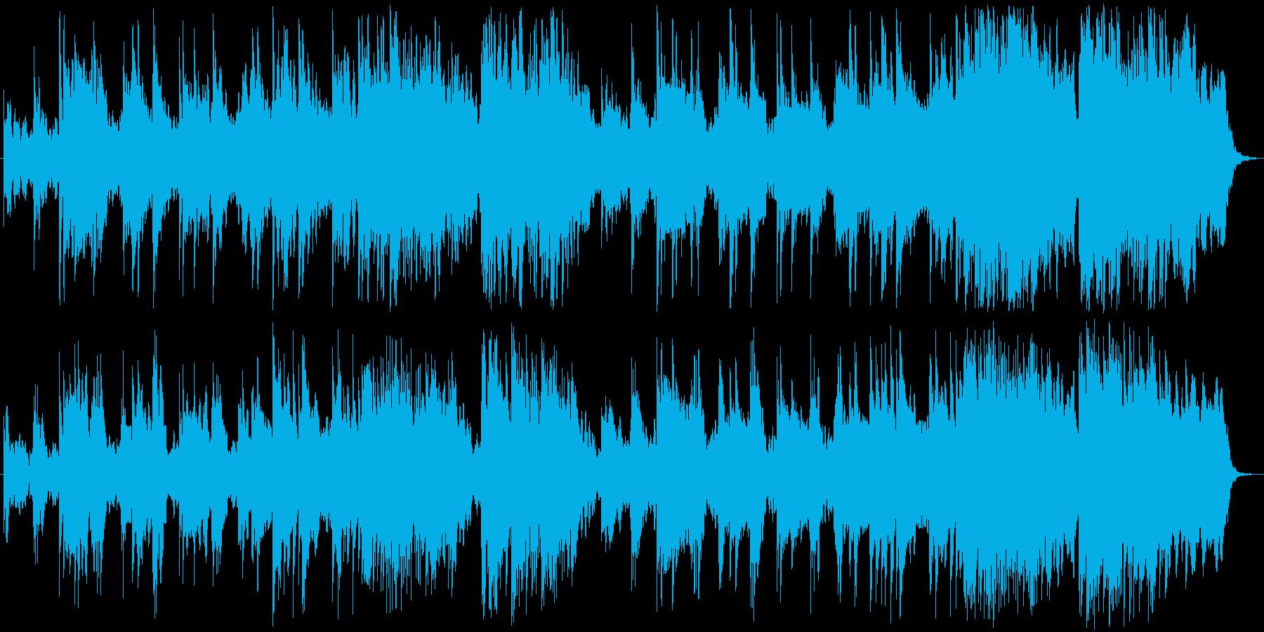 控えめで穏やかな喜びのピアノメロディの再生済みの波形