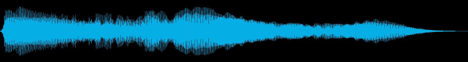 エイリアン1ドローンの再生済みの波形