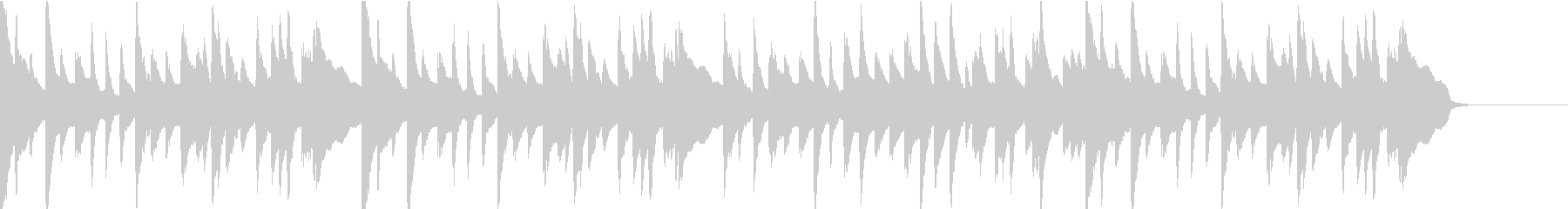 悲しいシーンのクラシックなBGMの未再生の波形
