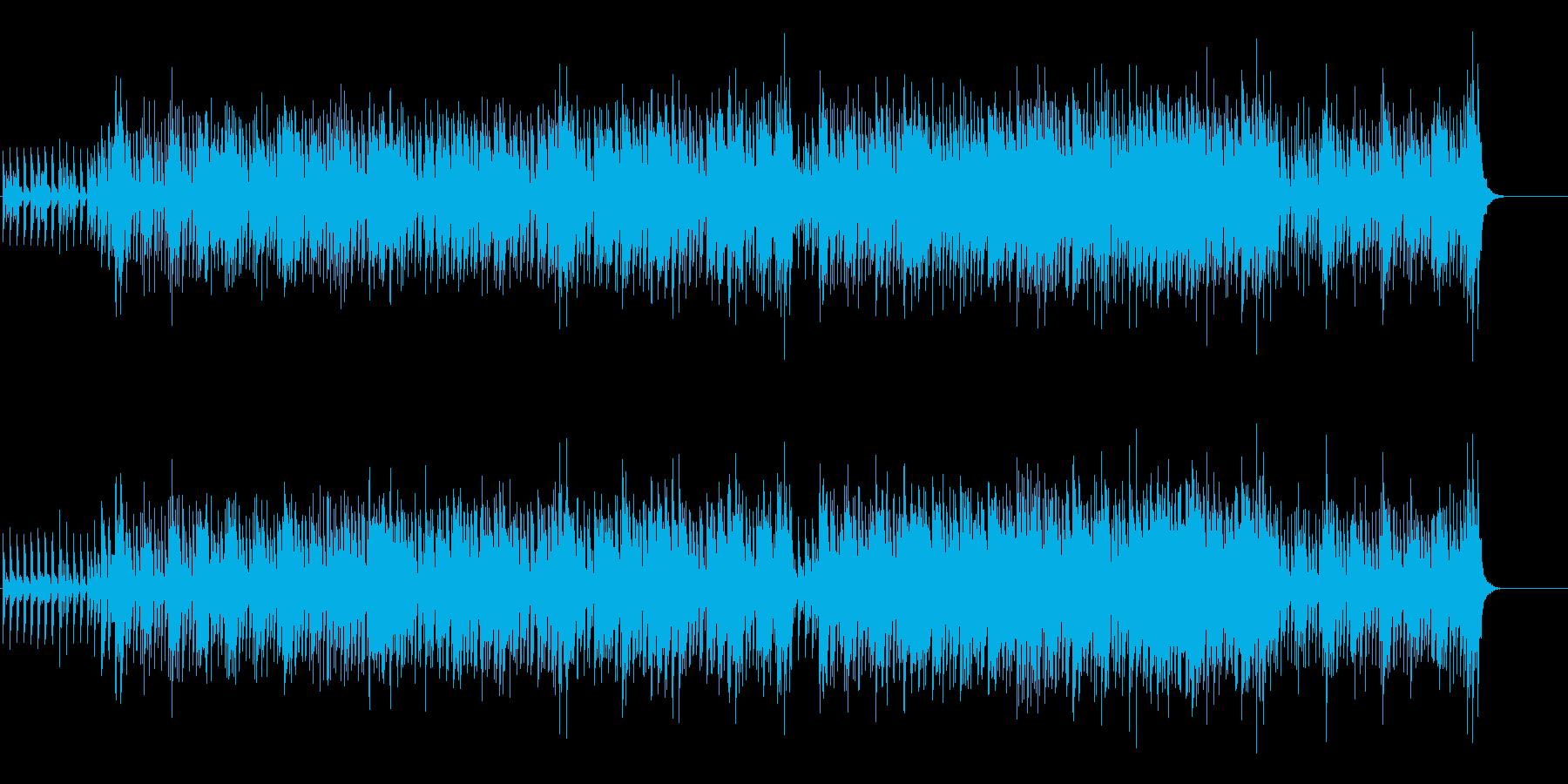 ポップなフュージョンの再生済みの波形