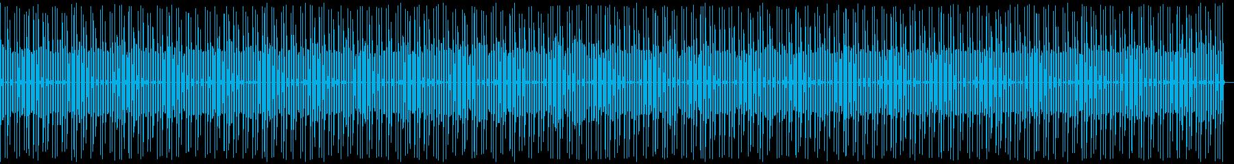レトロゲーム危険ゾーン アプリ 昔チープの再生済みの波形