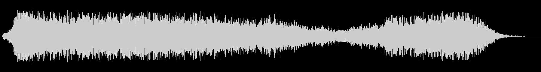 シュウウ、とスプレーなどを噴射する音の未再生の波形
