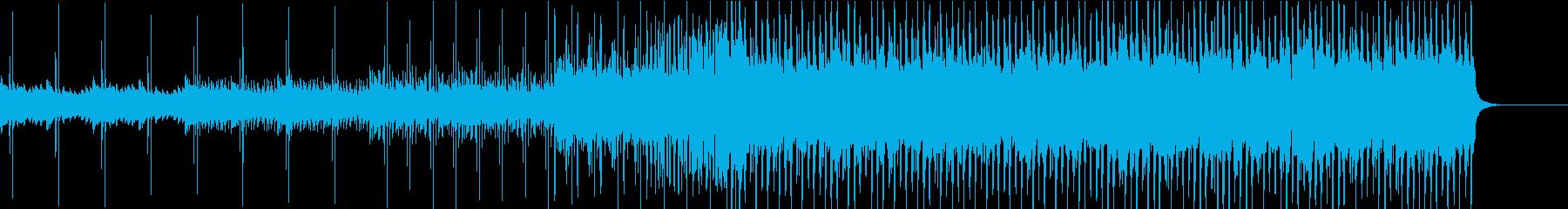 心が沸き立つ爽やかなインストルメンタルの再生済みの波形