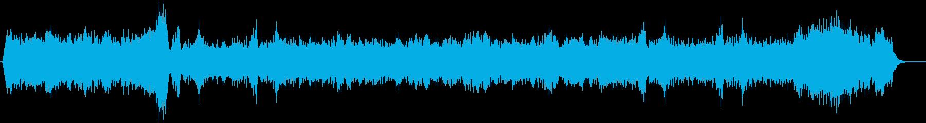 60年代ミュージカル風オーケストラの再生済みの波形