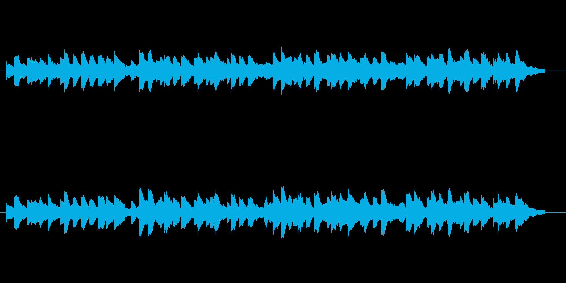 蛍の光 オルゴール風アレンジの再生済みの波形