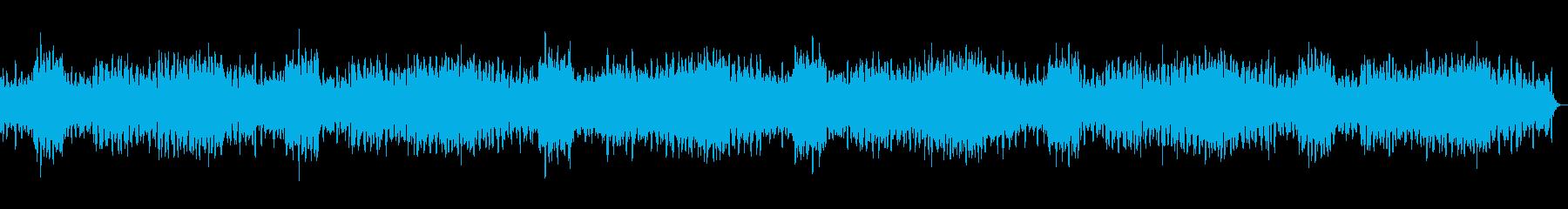 ヒーリング・睡眠用の落ち着くアンビエントの再生済みの波形