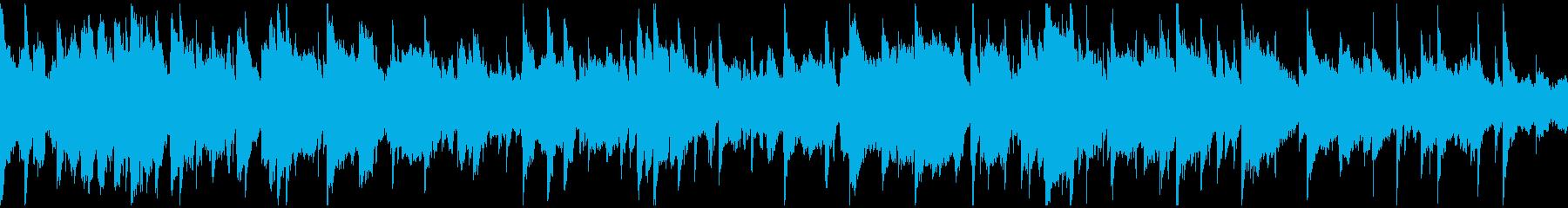 幻想的、ヒーリング、リラックス※ループ版の再生済みの波形