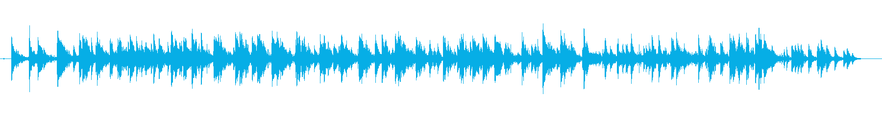 水中のようなプクプクという音 #1の再生済みの波形
