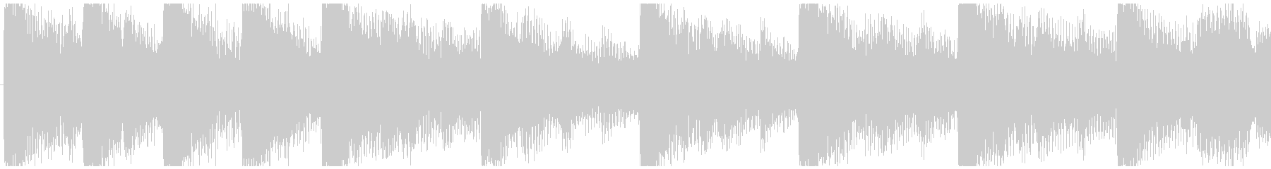 ハローウィン用のホラー曲-ループ3の未再生の波形