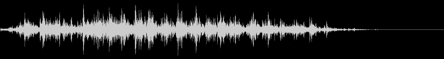 シャラシャラ(鈴の音)01の未再生の波形