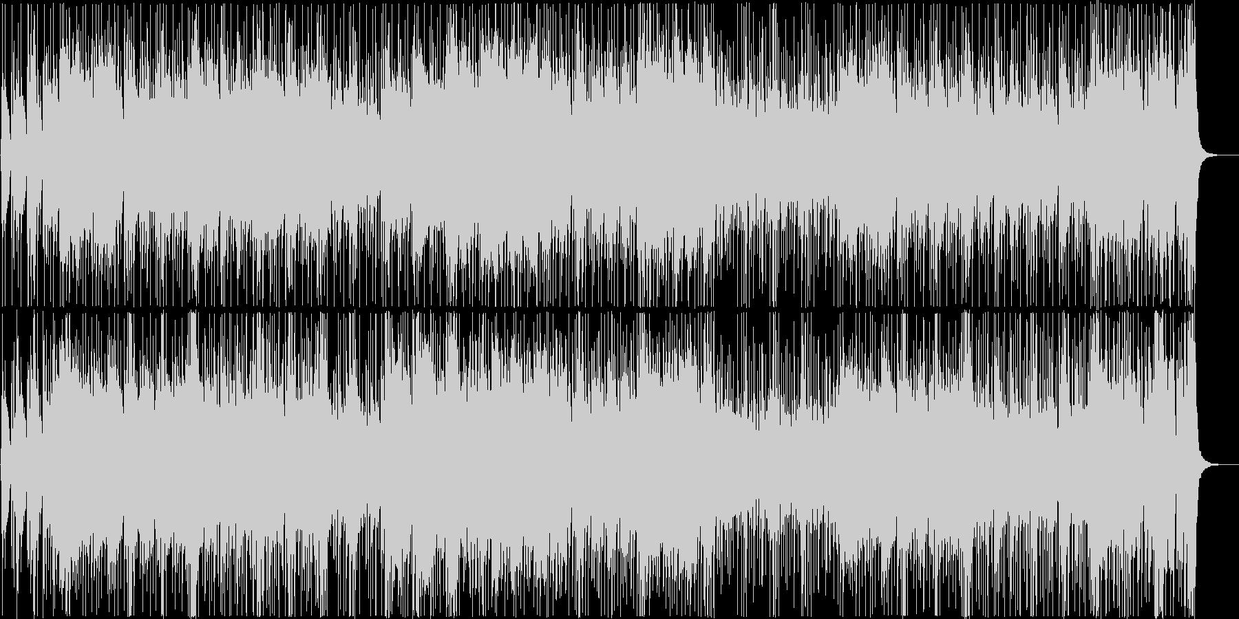 和楽器中心の落ち着いたクールな曲の未再生の波形