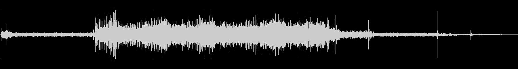 ウッドドリルプレス:ボアワンホール...の未再生の波形