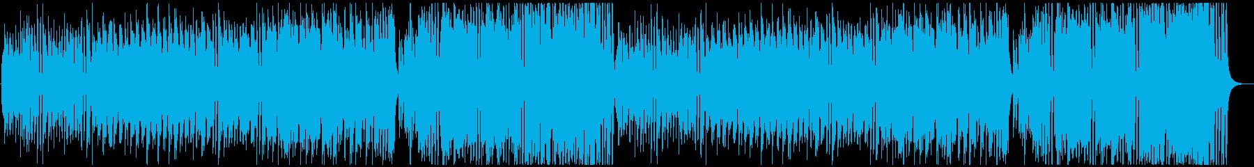 楽しいトラッド日常曲の再生済みの波形