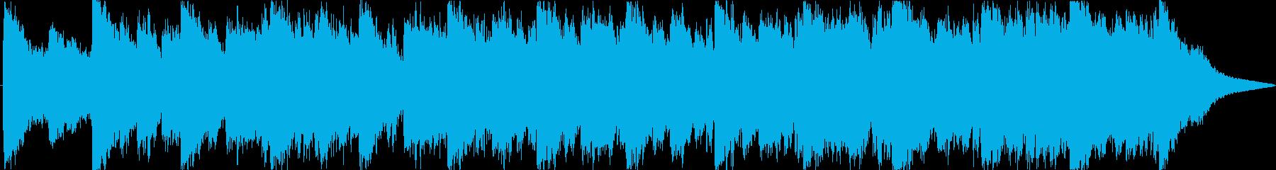 妖しいホラーの再生済みの波形