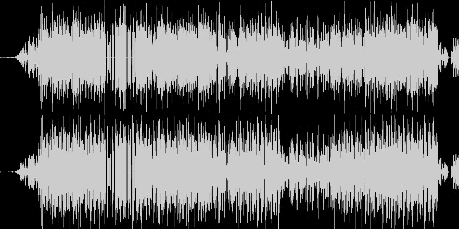 スクラッチ&エフェクトダークヒップホップの未再生の波形