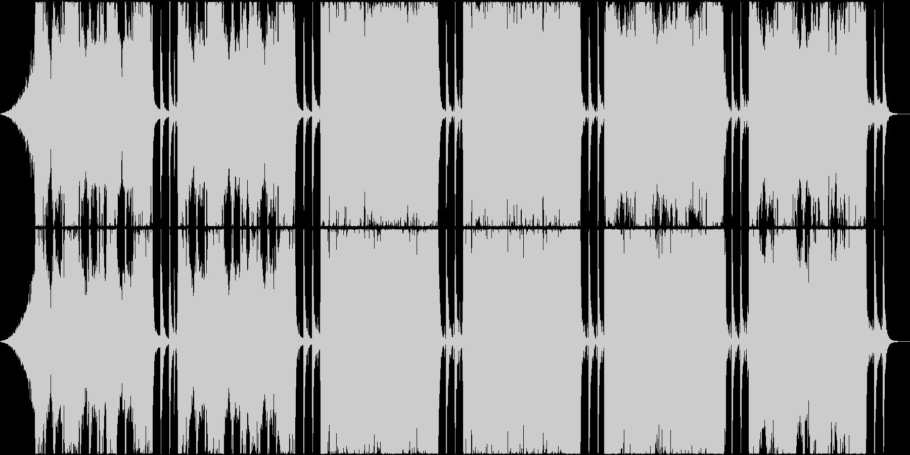 バラエティーで使えるギターサウンドの未再生の波形