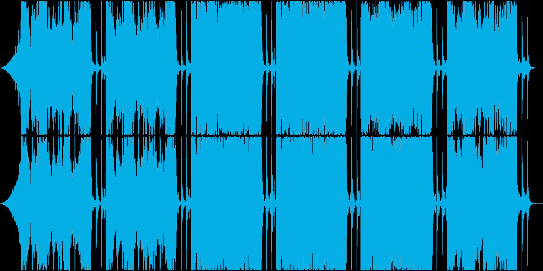 バラエティーで使えるギターサウンドの再生済みの波形