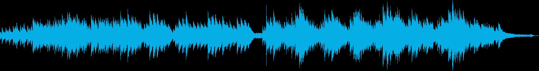 感情をそそる弦楽器セクションに裏打...の再生済みの波形