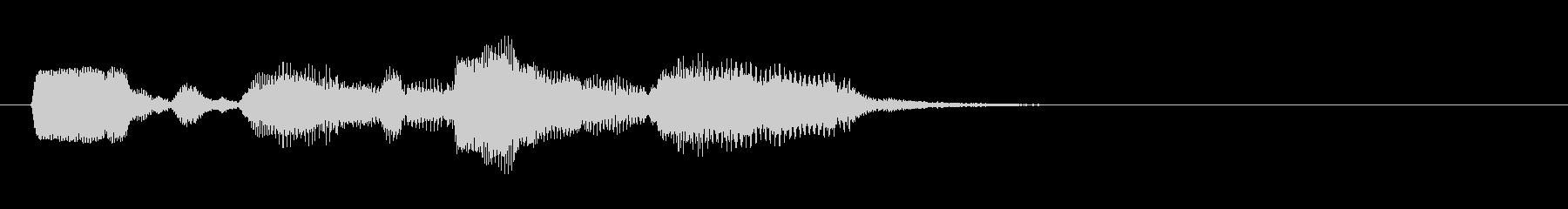 生演奏ゲーム用リコーダーの未再生の波形