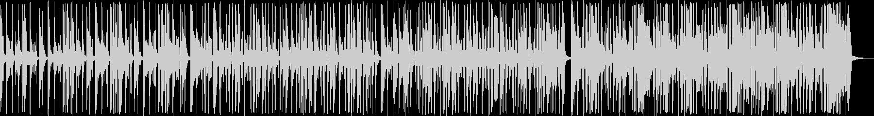 エレクトリックベース、クリーンなス...の未再生の波形