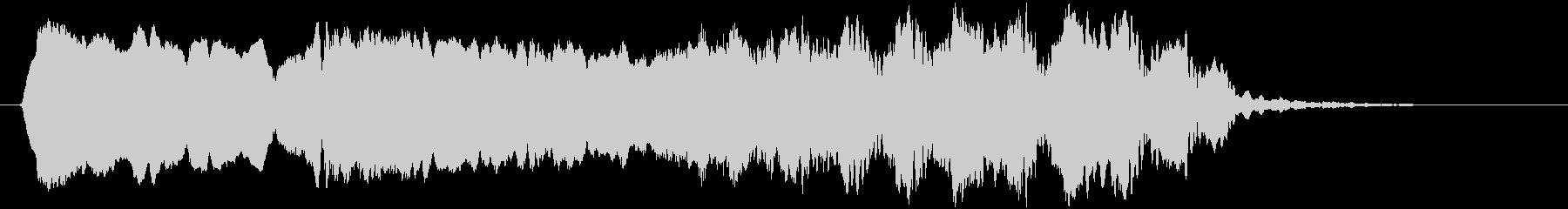 トンビ(トビ、鳶)ヒィーヨォォーロロロロの未再生の波形