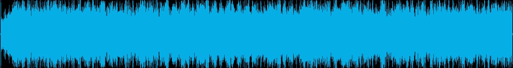 キュートなガールズコーラス入りBGMの再生済みの波形