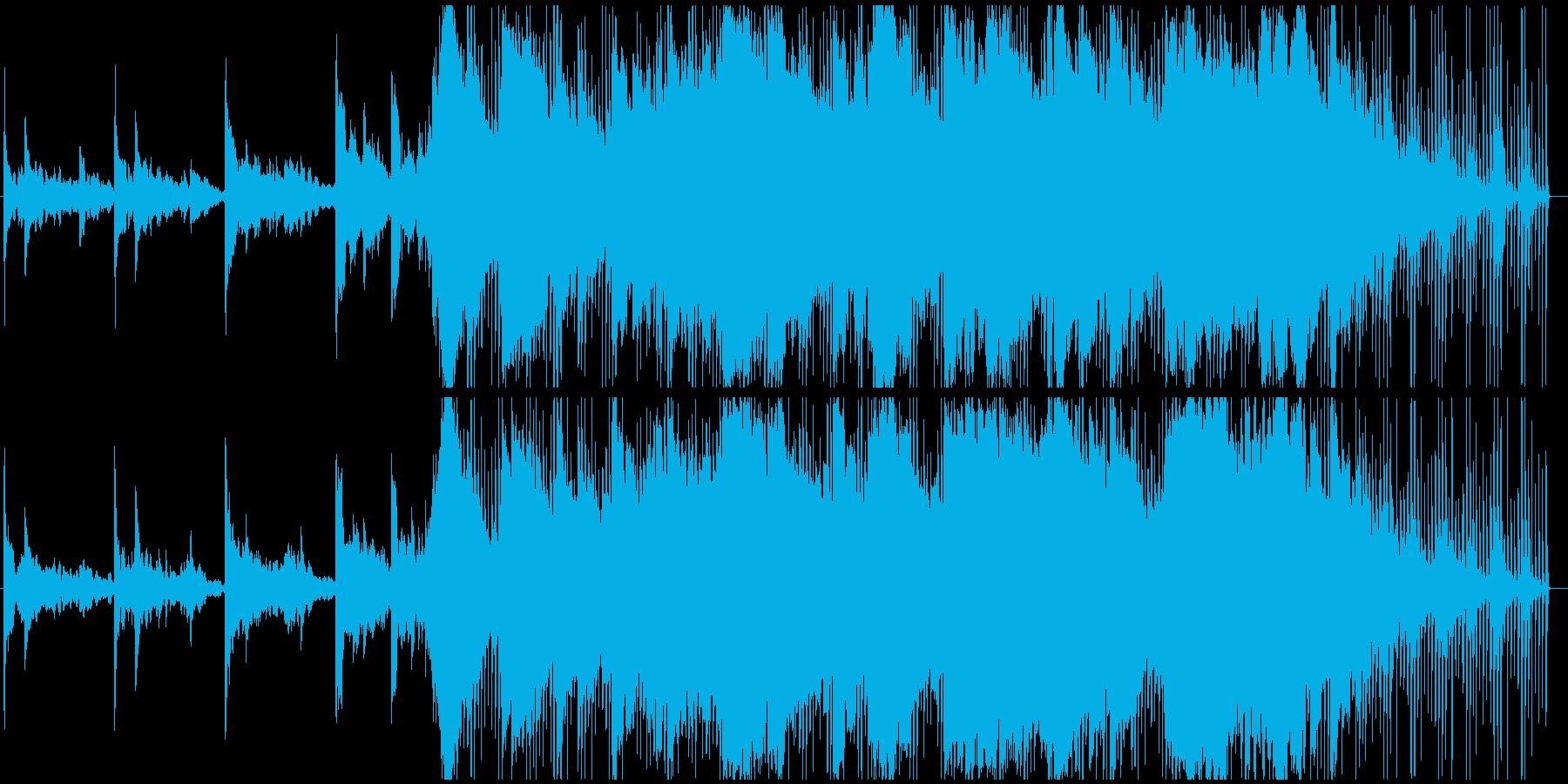 エキゾチックで美しい透明感あるCM向けの再生済みの波形