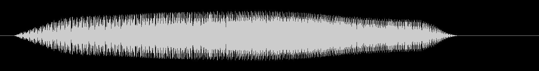 ブエッ(ファンシーでシンプルな決定音)の未再生の波形