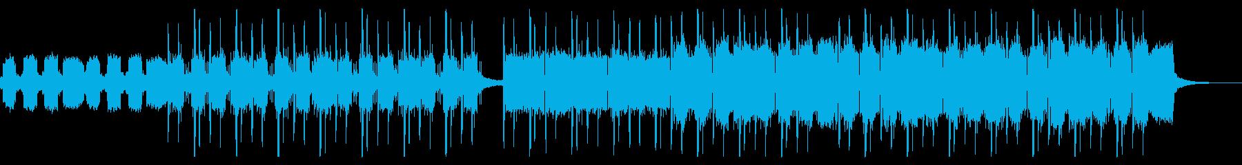 煌びやかかつどっしりとしたトラップの再生済みの波形