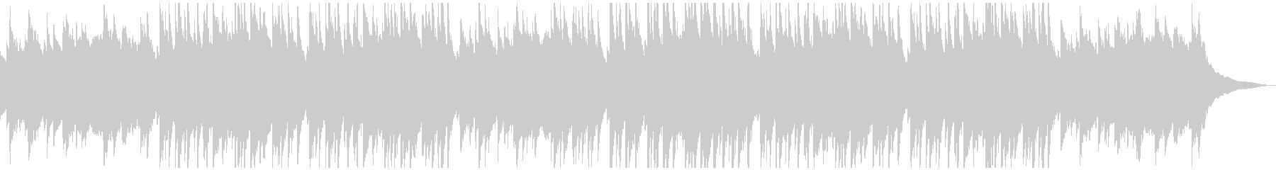 ゆったりしたピアノと鉄琴の曲です。の未再生の波形
